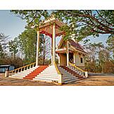 Buddhismus, Krematorium, Feuerhalle