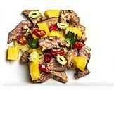Salat, Rindfleisch, Thailändische Küche