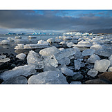 Glacial Lake, Ice