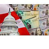 Usa, Wirtschaft, Kongress, Coronavirus
