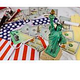 Usa, Economy, Statue Of Liberty