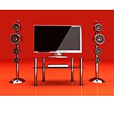 Tv, Bildschirm, Monitor, Fernseher, Flachbildschirm