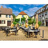 Gastronomie, Restaurant, Marktplatz, Werder