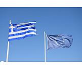 Flag, Greece, European community