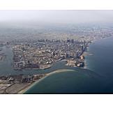Luftaufnahme, Dubai