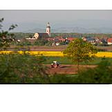 Village, Agriculture, Field Work