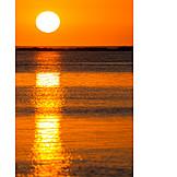 Sun, Sunset