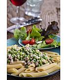 Italienische Küche, Rigatoni Emiliana
