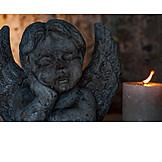 Kirche, Engel, Trauer, Glaube, Hoffnung