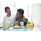 Embracing, Bonding, Relationship, Homogamous