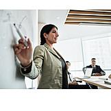 Meeting, Presentation, Businesswoman