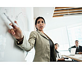Business Woman, Meeting, Presentation