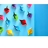 Paper Boat, Craft, Origami