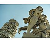 Engel, Skulptur, Schiefer Turm Von Pisa