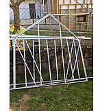 Greenhouse, Metal frame