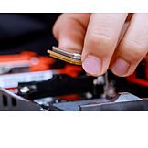 Computer, Microchip, Bauteil