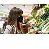 Shopping, Mouthguard, Corona Virus, Coronainfo