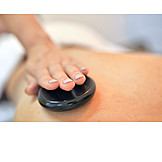 Spa, Massage, Warmsteinmassage