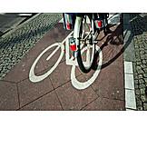 Bicycle, Cyclists, Bike Lane