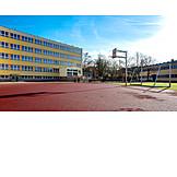 School, Sports Place
