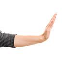 Hand, Stop, Body Language