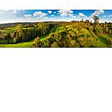 Landscape, Europe, Hill