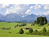 Allgau, Landscape