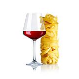 Red Wine, Pasta, Tagliatelle