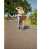 On the move, Cycling, Summer vacation
