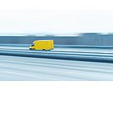 Logistik, Spedition, Lieferwagen