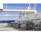 Cars, Ferry, Crossing