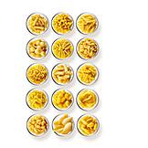 Spaghetti, Tagliatelle, Farfalle, Penne, Rigatoni, Fettuccine, Pasta Sort, Cannelloni
