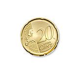 Coins, Euro coin