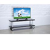 Soccer, Watching Tv, Flat Panel