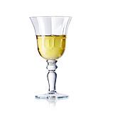 Weißwein, Kristallglas