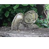 Engelsfigur, Gartendekoration