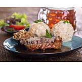 Meal, Roast pork