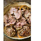 Meat, Pork, Pulled Pork