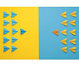 Confrontation, Paper airplanes, Squadron