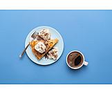 Dessert, Apfeltarte, Kaffee Und Kuchen