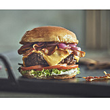 Cheeseburger, Burger