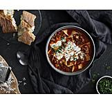 Soup, Lasagna