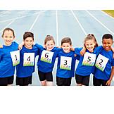 Team, Athletics, Race Number, Sports