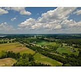 Rural Scene, Fields, Cultural Landscape