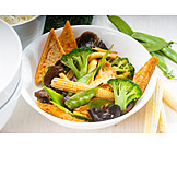 Asian Cuisine, Tofu, Vegan