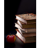 Apple, Books, Glasses