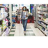 Shopping, Supermarket, Corona Crisis