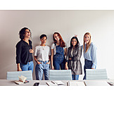 Office, Girl Power, Group Picture, Organized Group