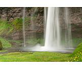 Waterfall, Flowing