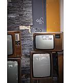 Retro, Television, Electronic Scrap
